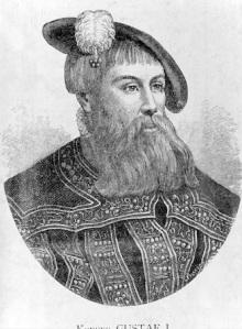 ARKIV Gustav Vasa Foto: Code 190 COPYRIGHT SCANPIX SWEDEN